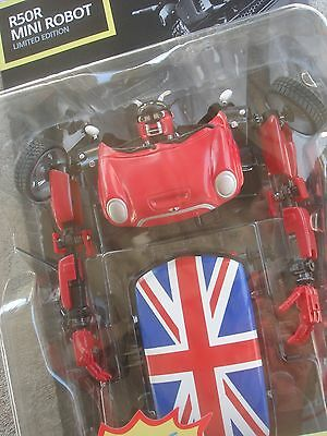 MINI Cooper R50R Robot 2004 {Limited Edition} Collectable Toy, Transformers