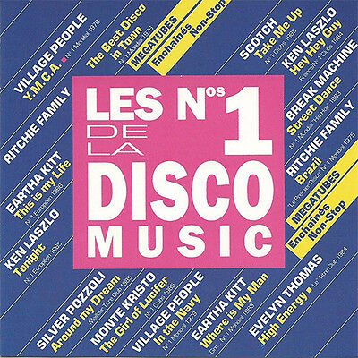 CD Les N° 1 De La Disco Music