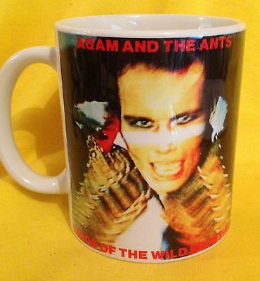 Adam Ants  Kings Of The Wild Frontier (1980)- Album Cover- On A Mug -