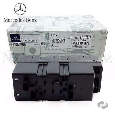 Vacuum Supply Pump In Trunk For Mercedes R230 SL63 AMG SL550 SL500 SL600 SL55AMG