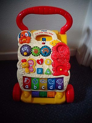 V tech first steps baby walker and activity centre