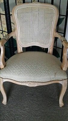 French style armchair...cane back