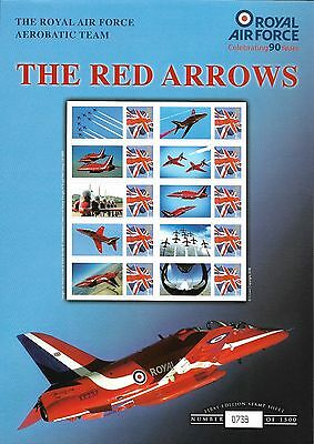 RAF Red Arrow Stamps