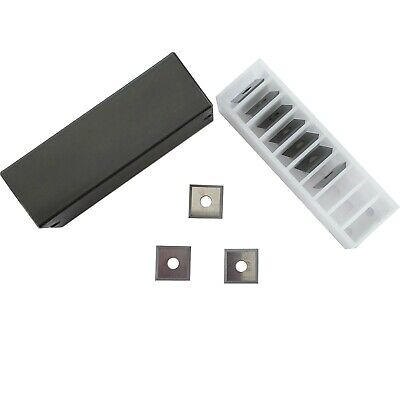 Pack of 10 (12X12X1.5mm)  12mm Square Corners Carbide Inserts for woodworking,