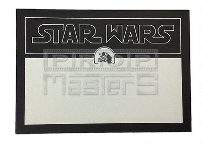 STAR WARS ANH 1977 original production made Press Card Decal, w/COA (movie prop)