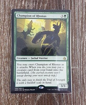 Magic the Gathering - Champion of Rhonas - Rare - Amonkhet