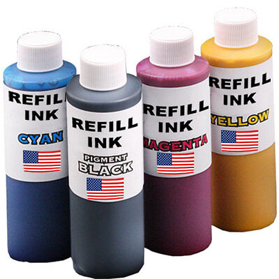4 x 125ml Refill Ink fits Brother LC67, LC38, LC57, LC37, LC39, LC73 LC77, LC133