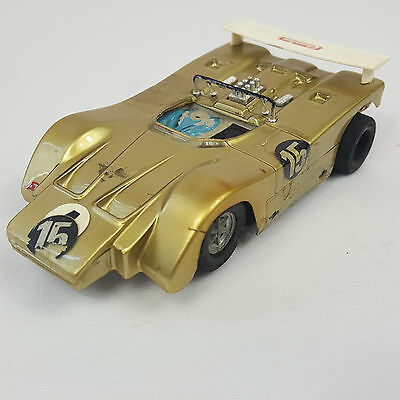 vintage 132 Carrera Universal 40467 March 707 Lexan breites Chassis