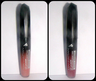 Manhattan Lip Lacquer Intense Colour & Velvet Finish, Lippenfarbe