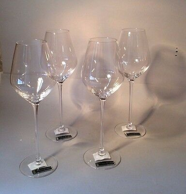 """TIPPERARY CRYSTAL """"PATRICK GUILBAUD"""" 4x MUSCAT WINE GLASSES LIMITED EDITION"""