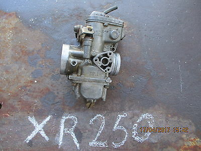 honda XR 250 carburettor / carby
