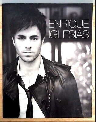 Rare 2008 Enrique Iglesias Program 95/08 with Pull Out Centerfold