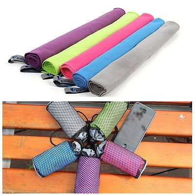 Fast Drying Beach Towel Compact Absorbent Travel Sports Towels Outdoor Camping