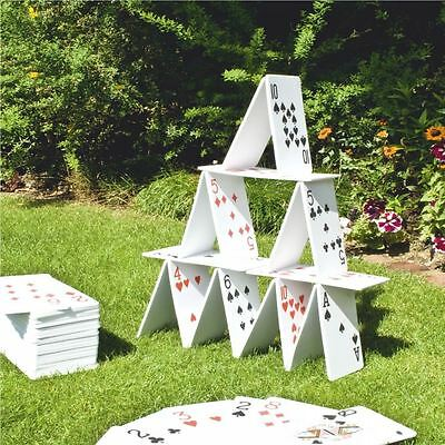 Pack Of 56 EVA Playing Cards Garden Party Family Game Large Giant Jumbo Deck Toy
