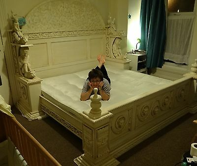 Handmade Indonesian Bed Solid Wood