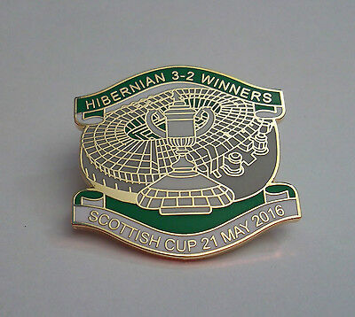Hibernian Fc Scottish Cup Winners 2016 Badge
