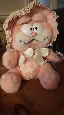 Garfield Pink Kitchy-Coo Stuffed VTG 1981 Dakin Babykins Toy *RARE*