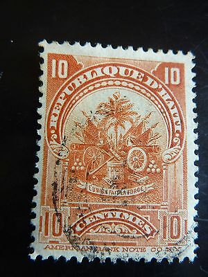 Haiti 10 centime stamp printed by American Bank Note Company