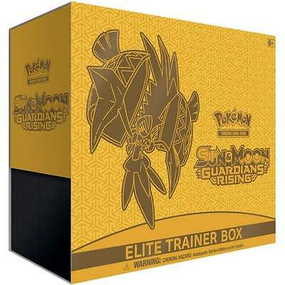 Pokemon sun and moon guardians rising elite trainer box - In Stock