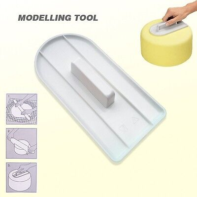 Cake Decorating Smoother Tool Paddle Icing SugerCraft Baking Fondant Finisher UK