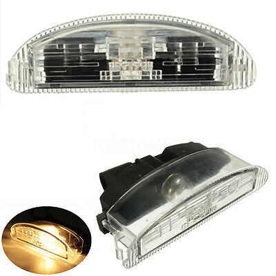 for Renault Clio 2 1998-2005 Licence Number Plate Lamp Light New 7700410754 UK