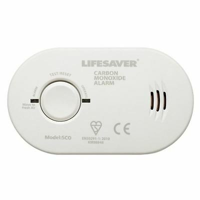 Kidde Carbon Monoxide Detector Life Saver Alarm Battery Operated Test Button
