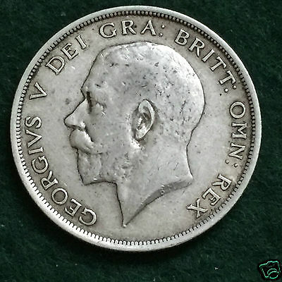 GEORGE V - 1918 Half Crown.