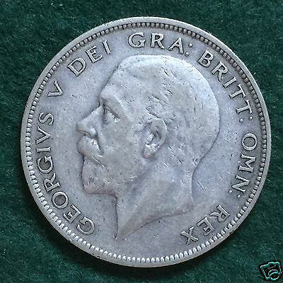 GEORGE V - 1928 Half Crown.