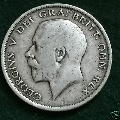 GEORGE V - 1916 Half Crown.