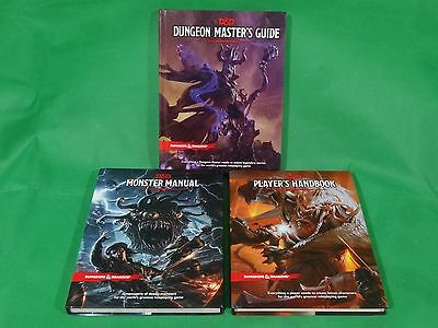 3x Dungeons and Dragons RPG: Dungeon Masters Guide Bundle