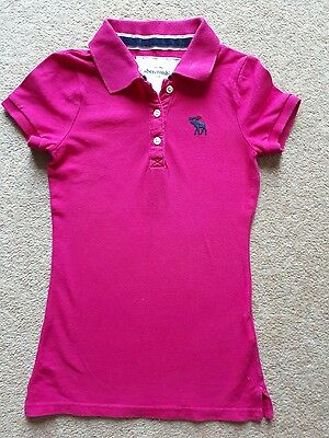 Abercrombie and Fitch girls t-shirt age 7-8