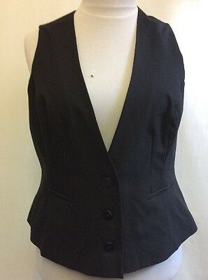 L561 South Women's Black Waistcoat Size 20 Uk
