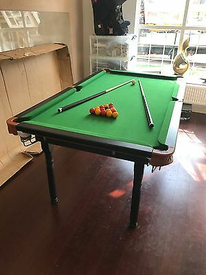 Snooker / Pool Table 6' x 3'