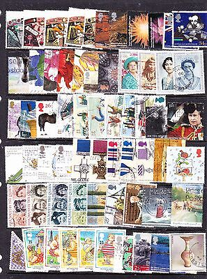 Great Britain stamps - 60+ Used