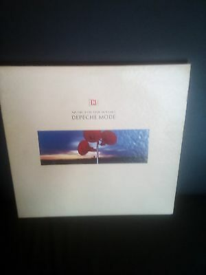 "depeche mode "" music for the masses""  12 inch vinyl LP ( Stumm 47)"