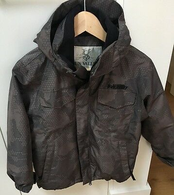Boys Ski Jacket, Khaki/Brown colour  Size 8