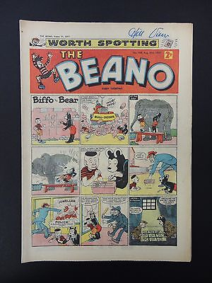 The Beano Comic No. 789- August 31st 1957,60th Birthday Present/Gift,VG+/FN Copy