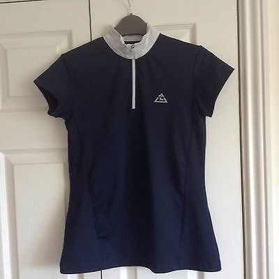 Mountain horse navy riding Tech top. size S vgc