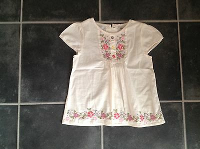 marks and spencer girls top age 3-4 yrs
