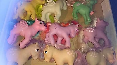 Vintage My Little Pony (G1) Ponies Bundle , UK EXCLUSIVE INCLUDED