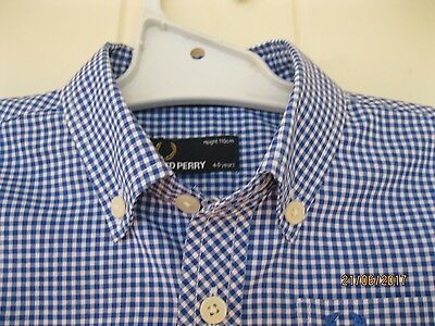 Fred Perry  Boys  Shirt.... 4/5 Years