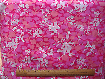 "Swiss cotton lawn fabric vivid colourway 4.3 yds x 36"". Bought from Harrods"