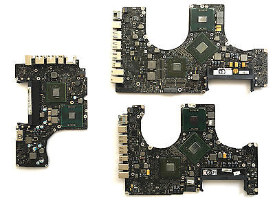 Joblot Of 3X Faulty Unibody Logic Boards: (A1342, A1286, A1297)