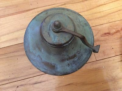 Brass Ships Bell Authentic Maritime Brass Ships Bell Great Ring Vintage
