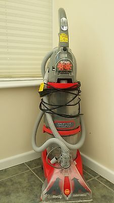 Vax V124 Dual V Upright Carpet and Upholstery Washer Grey & Red, 1350W