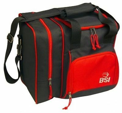 BSI Deluxe Single Ball Tote Bag red/Black