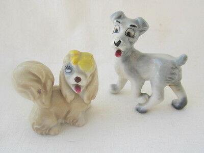 Wade, Walt Disney Lady & The Tramp Figurines.