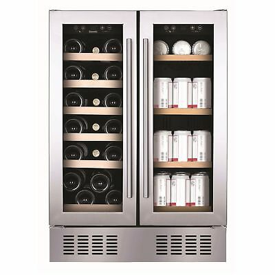 Baumatic BWC6038FS 38 Bottle Wine Cooler Cabinet | Built-under, 60cm