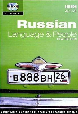 Russian Language and People by Roy Bivon Compact Disc Book (Russian)