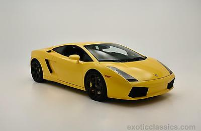 2005 Lamborghini Gallardo -- 2005 Lamborghini Gallardo  13,454 Miles Yellow Coupe V10 5L M